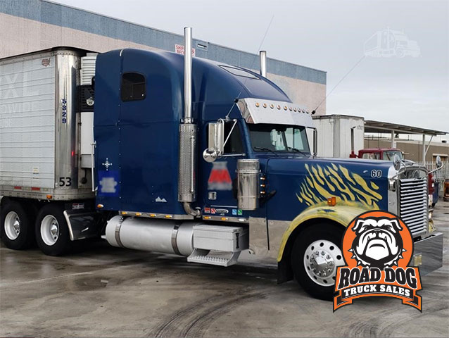 1999 Freightliner FLD132 Classic XL Semi Sleeper Truck For Sale
